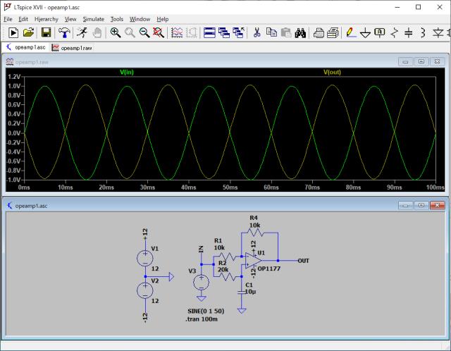 オールパーパス回路のシミュレーション