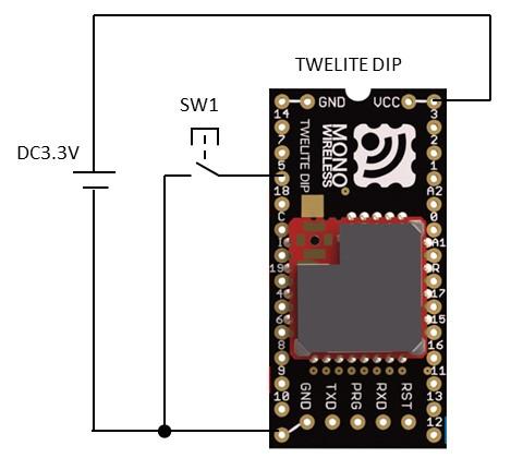 EEPROMの動作確認の回路図