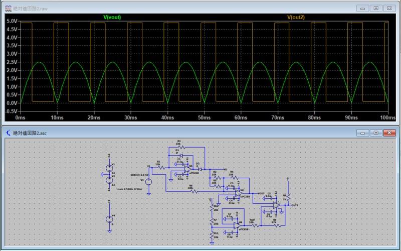 絶対値回路の使用例