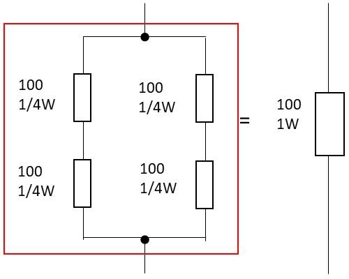 定格電力や耐圧が足りない場合の組み合わせ方