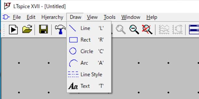 シンボルの作画のツール