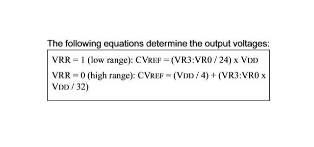 引用:PIC12F675のデータシート(リファレンス電圧の設定)