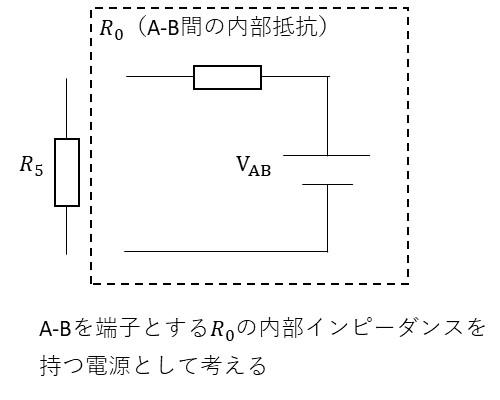 テブナンの定理の考え方1