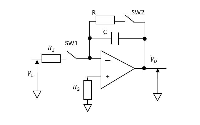 積分回路の説明図