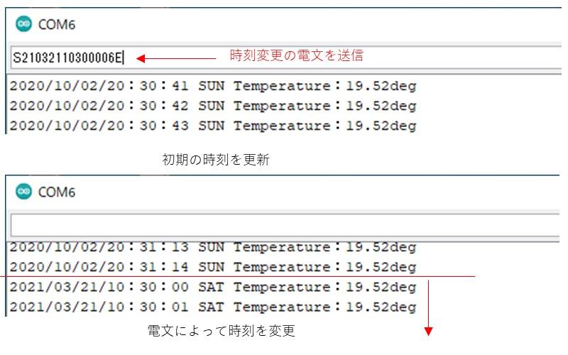 Seeeduino XIAOとRX8900モジュールの動作確認